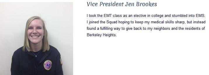 Jen Brookes - Vice President