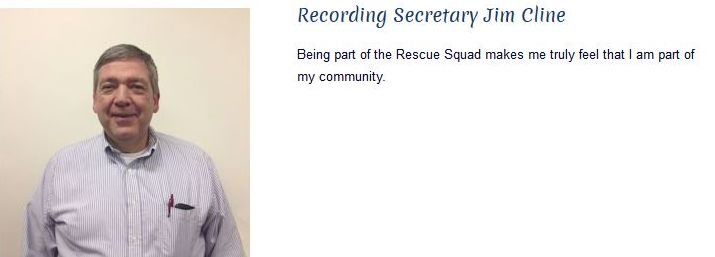 Jim Cline - Recording Secretary