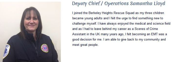 Samantha Lloyd - Deputy Chief/Operations